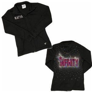 Infinity IAS Cheerleading Jacket Girl YS (5-6)